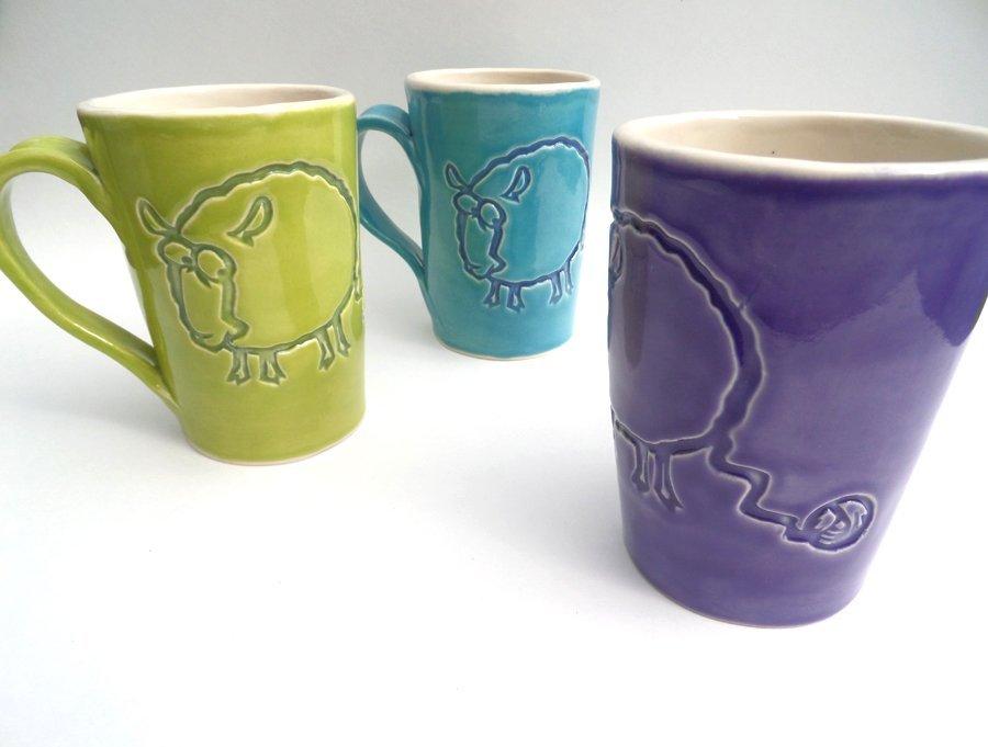 Sheepish Sheep Mugs