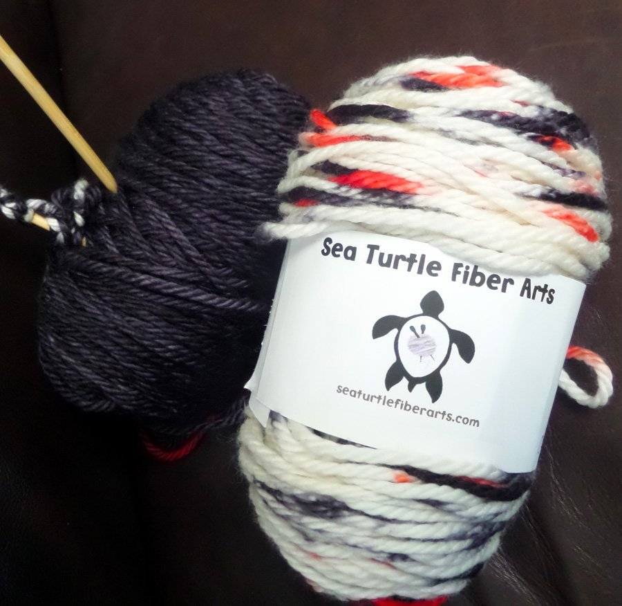 Sea Turtle Fibre Arts Bookworm